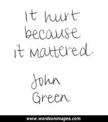 it hurt