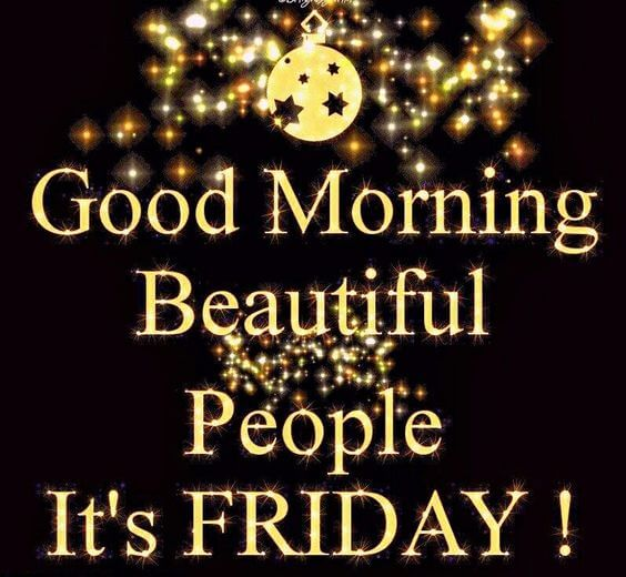 friday beautiful people
